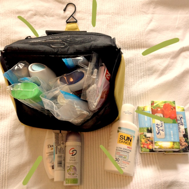 Backpacking Packliste Hygiene
