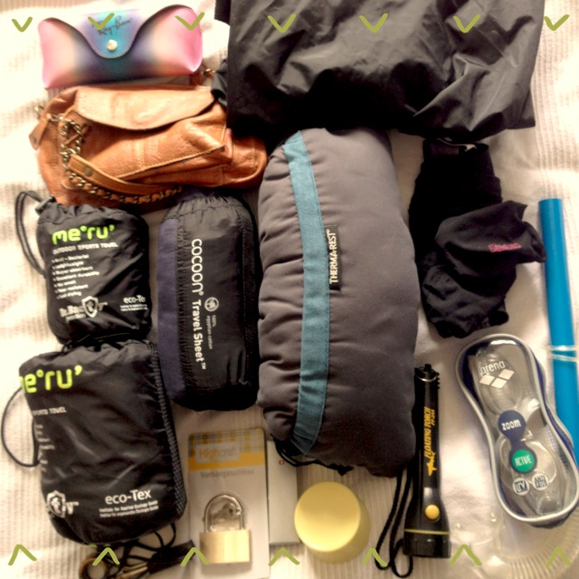 Backpacking Packliste Reiseausrüstung