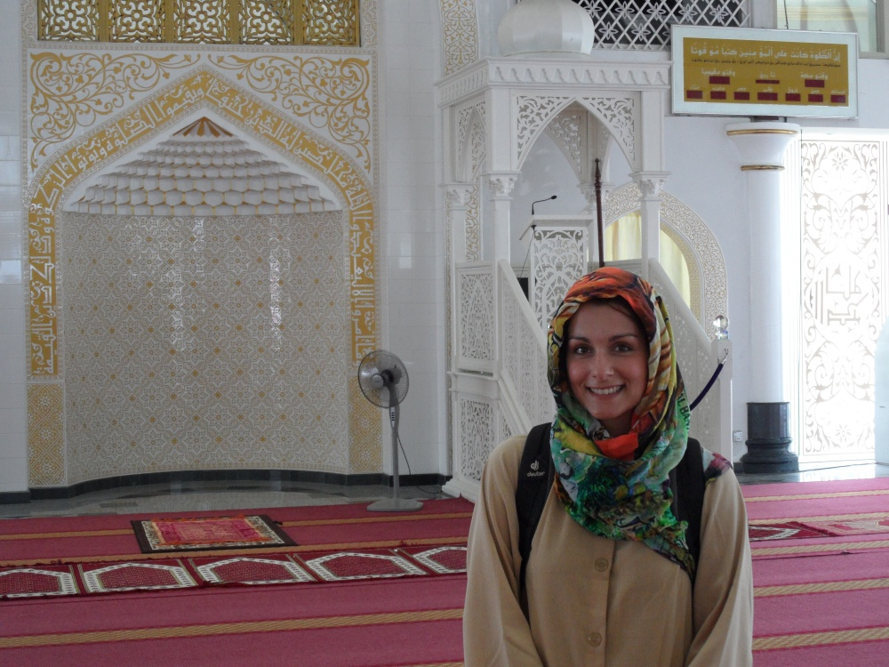 Me and the Moschee ;)