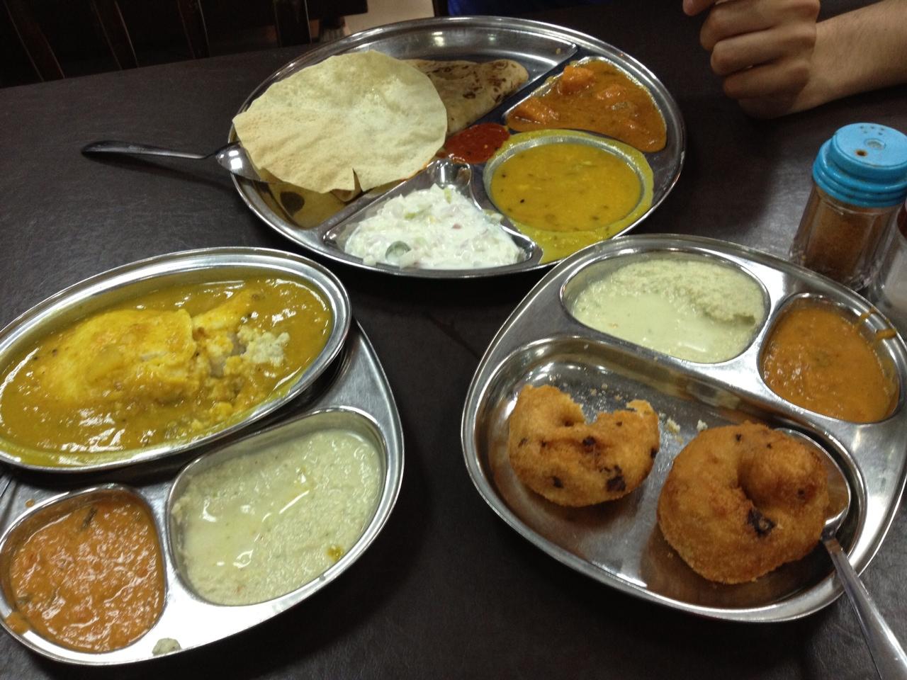 Indisches Essen in Singapur