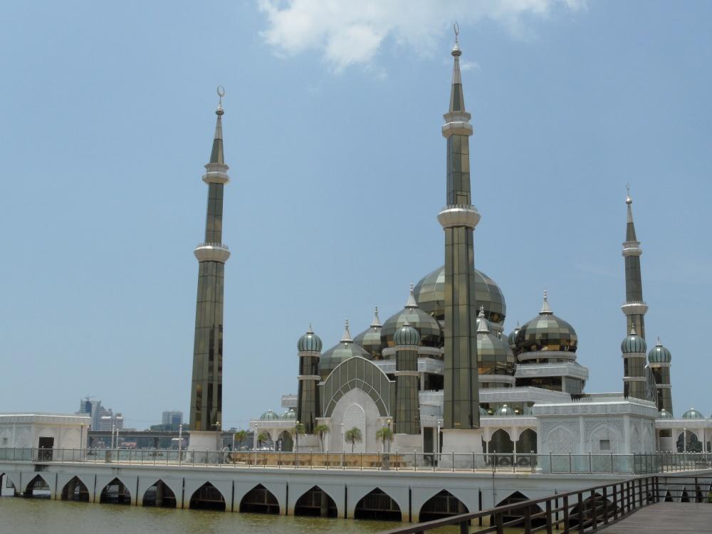 Kristall-Moschee in Kuala Terengganu
