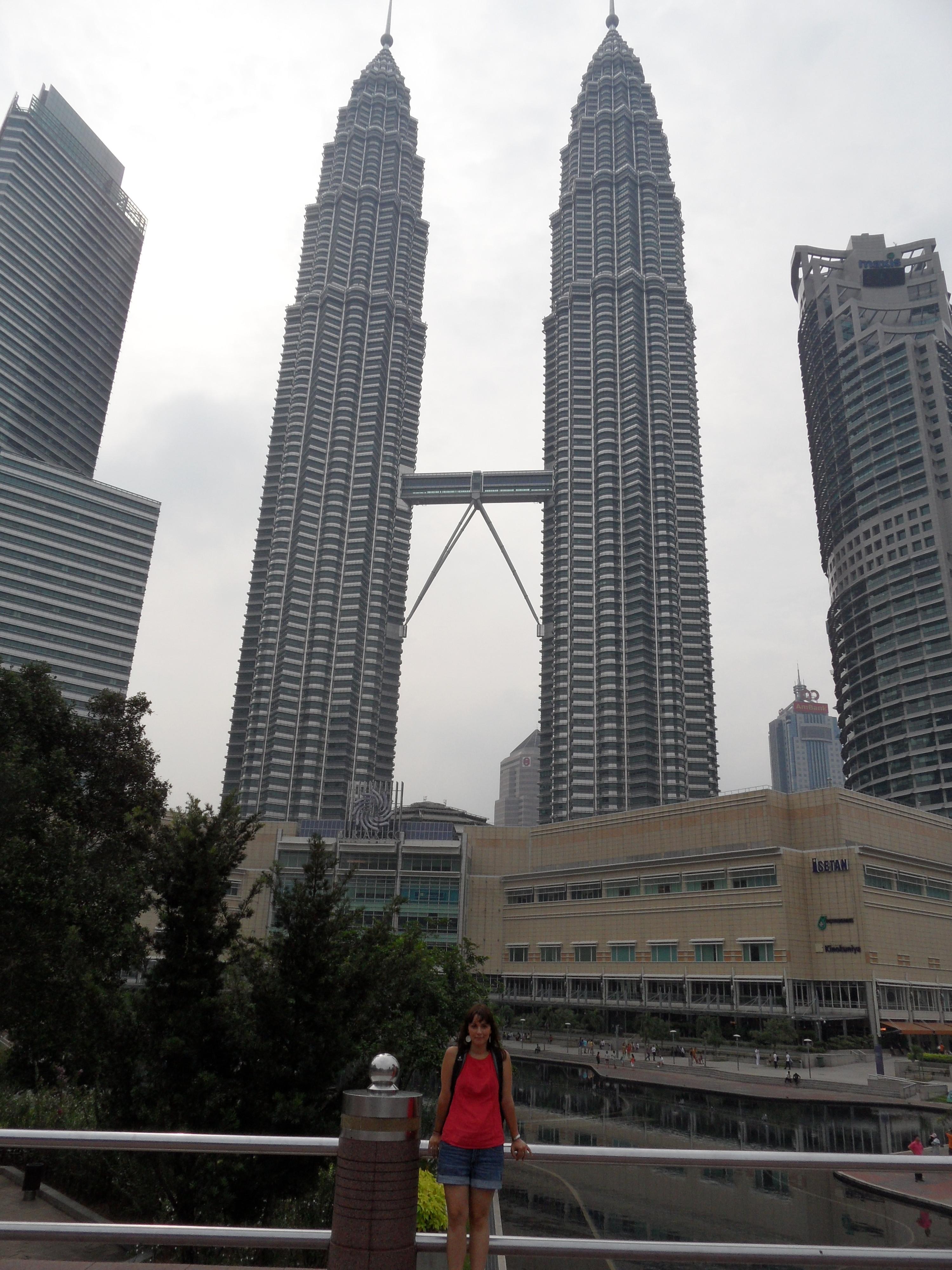 Die Petronas und ich :-)
