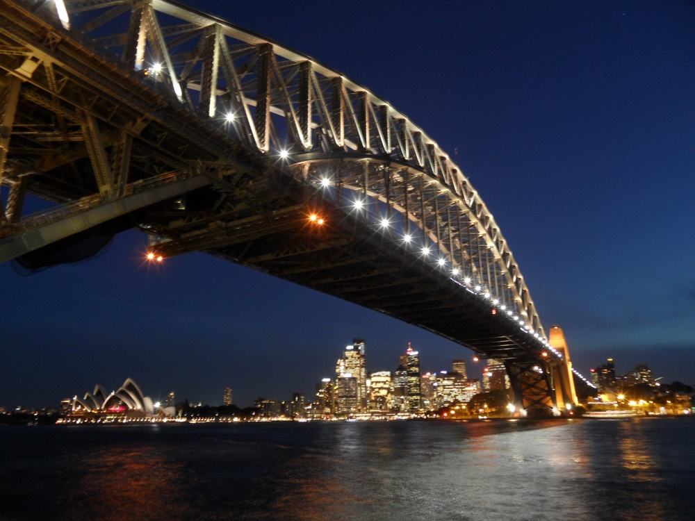 Harbour Bridge Nacht