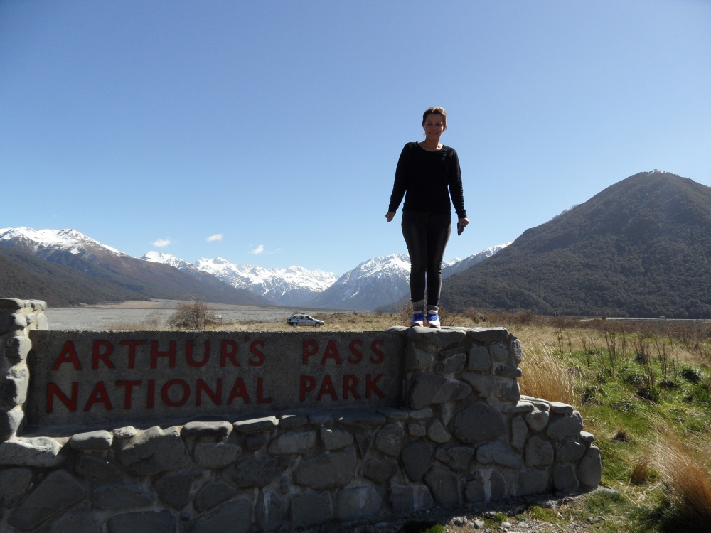 Arthur Pass - Auf dem Weg von Franz Josef zum Lake Tekapo