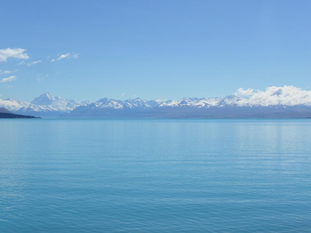 Mount Cook ganz links