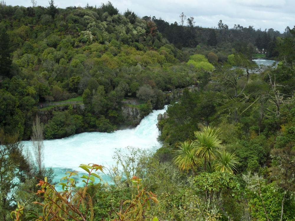 Huka Falls Grobansicht